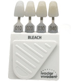 ivolclar shade guide for bleached teeth