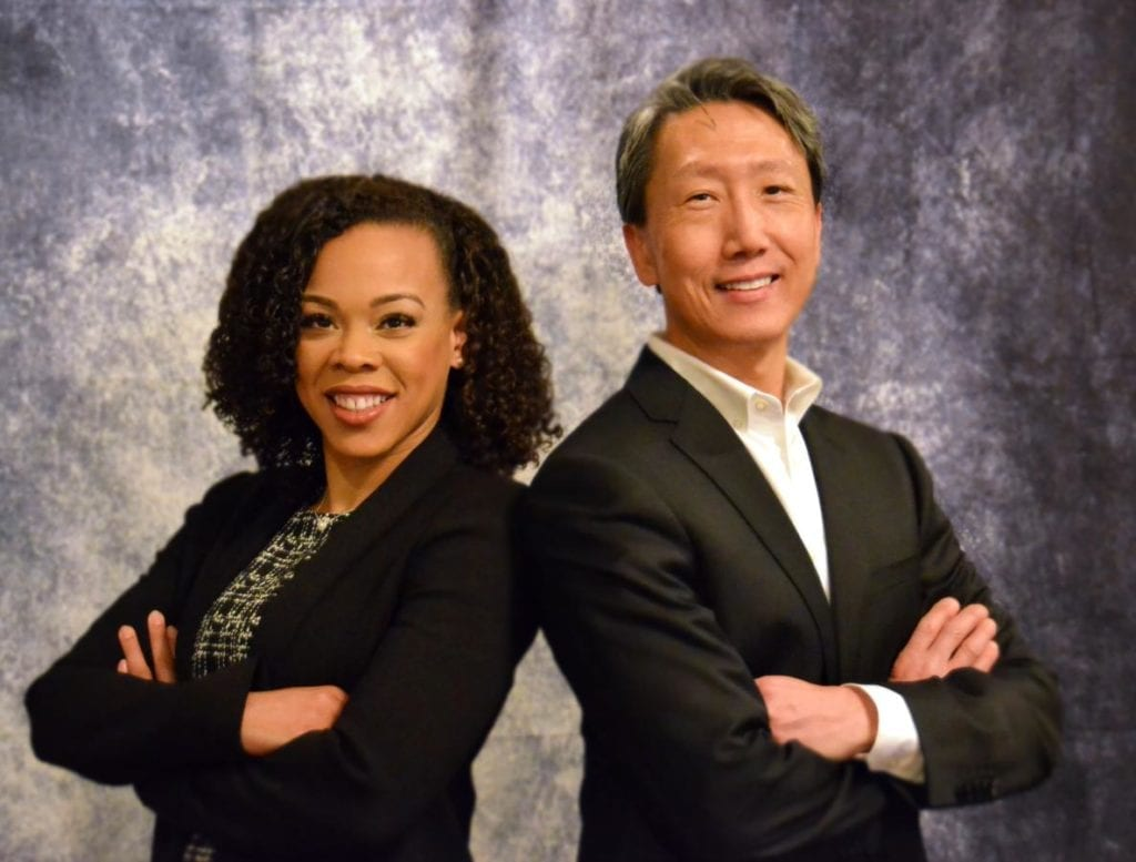 Picture of Dr. Cha and Dr. Durham